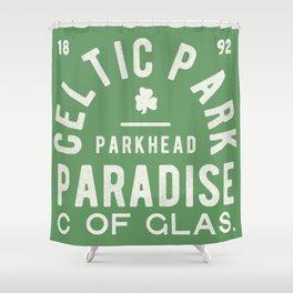 Vintage Football Scotland Shower Curtain