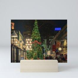 Boston is ready for Christmas  Mini Art Print