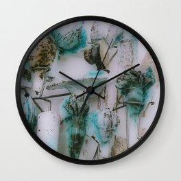 Glazed Over 3 Wall Clock