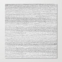 A.M. Canvas Print