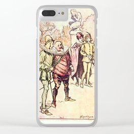 Arthur Rackham - Lamb's Tales from Shakespeare (1909) - Twelfth Night Clear iPhone Case