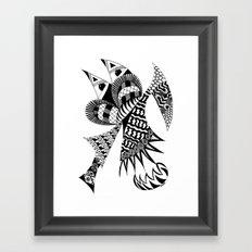 Ubiquitous Bird Framed Art Print