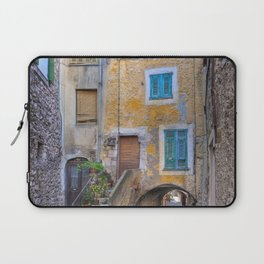 A back alley in Eze France Laptop Sleeve