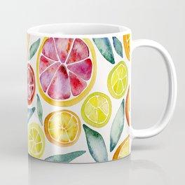 Sliced Citrus Watercolor Coffee Mug