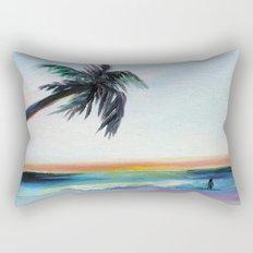Be Back At Sunset Rectangular Pillow