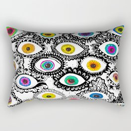 Through Eyes Rectangular Pillow
