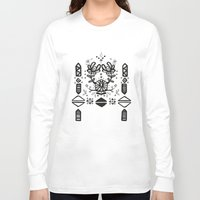 tribal Long Sleeve T-shirts featuring Tribal  by Katya Zorin