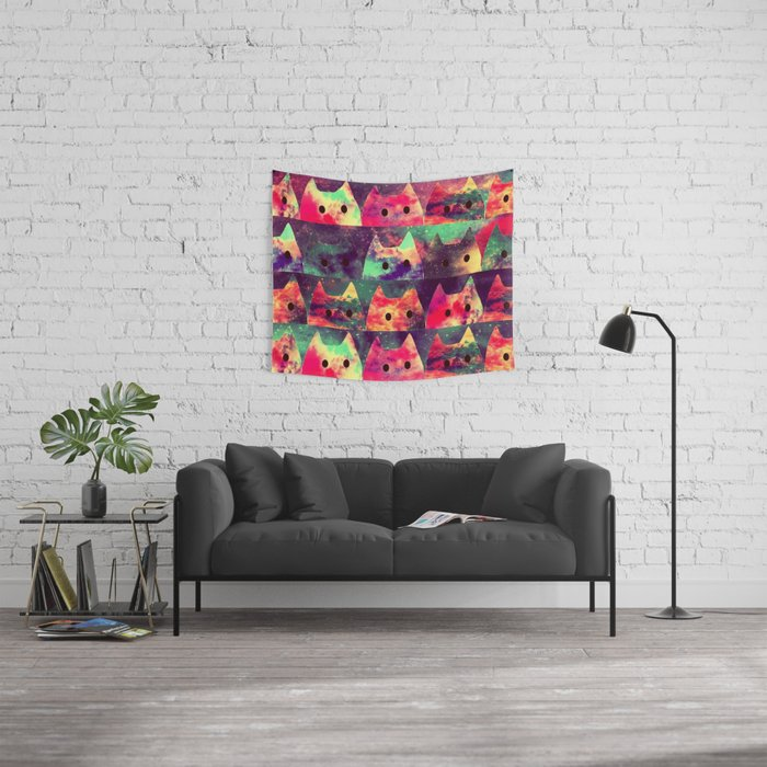 cats-131 Wall Tapestry