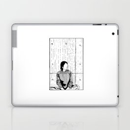 The Girl in a Box - Apprehension Laptop & iPad Skin