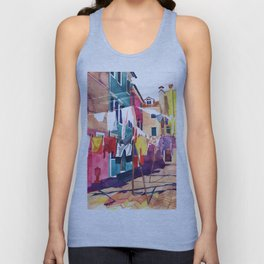 Laundry in Venice Unisex Tank Top