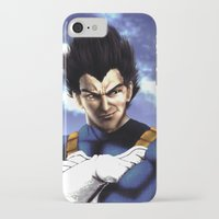 vegeta iPhone & iPod Cases featuring Prince Vegeta by Shibuz4