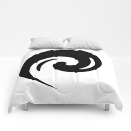 Yin Yang Exagerated Comforters