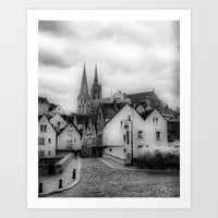 france Art Prints featuring France by Iveta S.