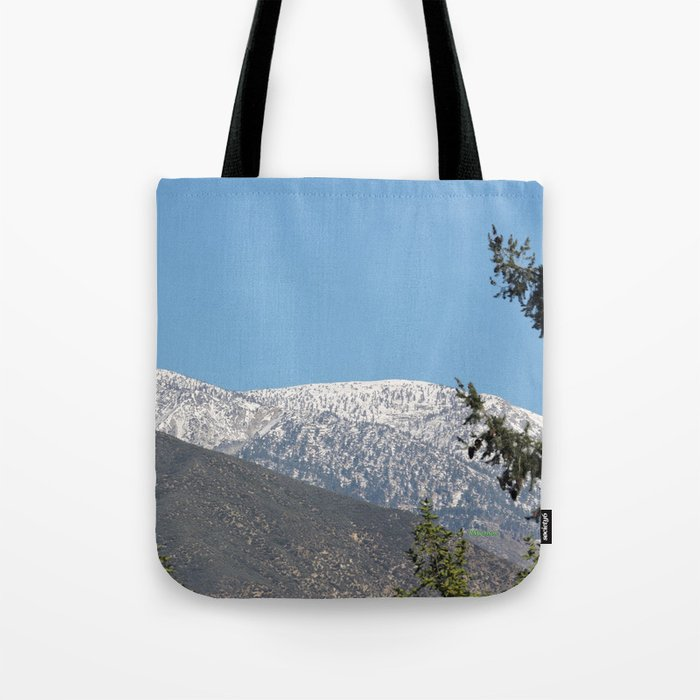 Southern California Snow Tease Tote Bag