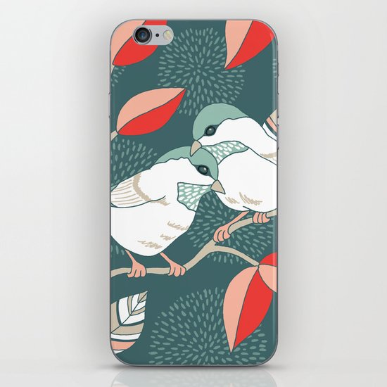 Love Birds  iPhone & iPod Skin
