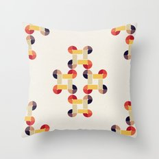 'round and 'round  Throw Pillow