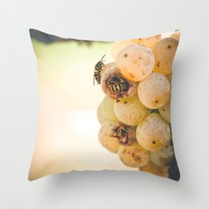 Beez in the Trap Throw Pillow