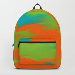 Colorful intense mixed Backpack