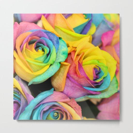Rainbowlicious Metal Print