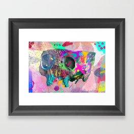 A framework of bone Framed Art Print