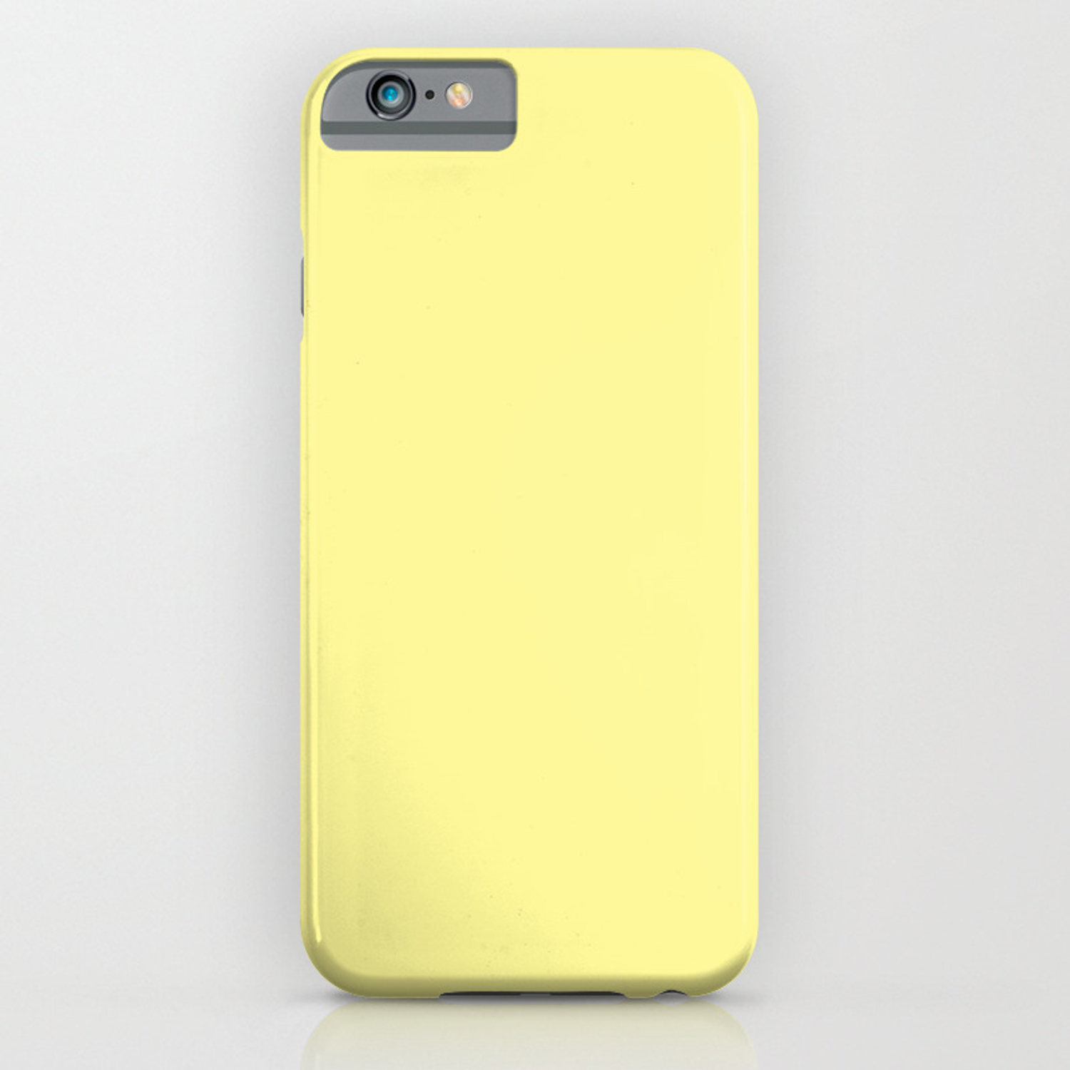 buy online 9fc44 63992 Simply Pastel Yellow iPhone Case
