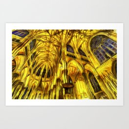The Cathedral Vincent Van Goth Art Print