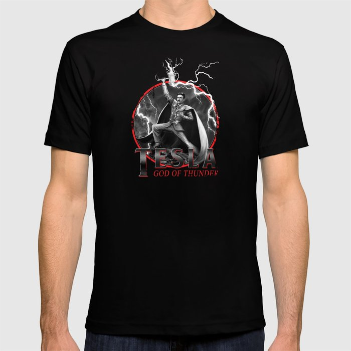 Tesla: God of Thunder T-shirt
