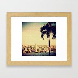 SKYHIGH Framed Art Print