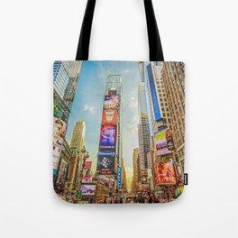 Times Square Hustle Tote Bag