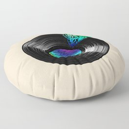 BROKEN RECORD Floor Pillow
