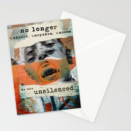 Unsilenced Stationery Cards
