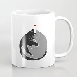 I Wish You Were Here Right Meow Coffee Mug