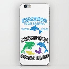 Iwatobi - Dolphin iPhone Skin