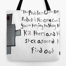 Robot Problems Tote Bag