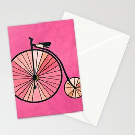 Old bicycle Stationery Cards