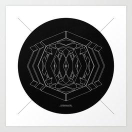 Veuromancer Art Print