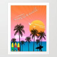 florida Art Prints featuring Florida  by mark ashkenazi