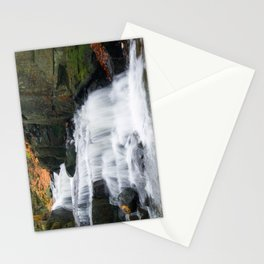 Lumsdale waterall Stationery Cards