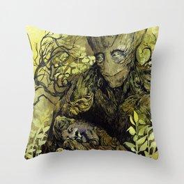 Big tree Throw Pillow
