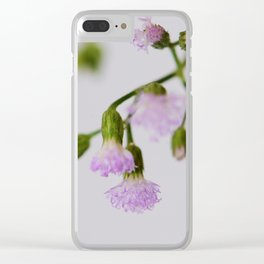 violets Clear iPhone Case