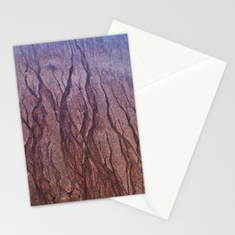 Lines in the Sand Stationery Cards