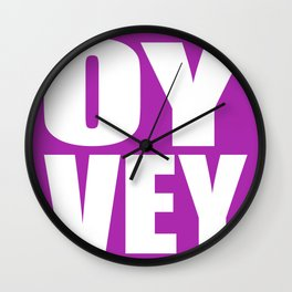 Oy Vey!  Wall Clock