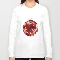 pomegranate Long Sleeve T-shirts featuring Pomegranate  by Libertad Leal Photography