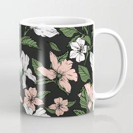 Flowers in the tropical night Coffee Mug