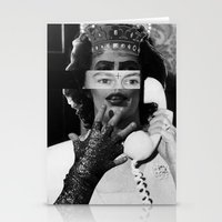 rocky horror Stationery Cards featuring Rocky Horror Queen by Marko Köppe