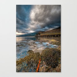 Loch Long Torpedo Testing Station Canvas Print