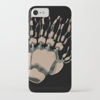 ghost in the shell iPhone & iPod Cases featuring Ghost in the Shell by Alex Tim