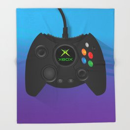 Xbox Controller Throw Blanket