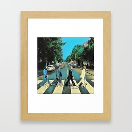 Abbey Pugs Framed Art Print