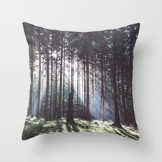 Magic forest Throw Pillow
